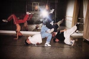 Savage Feet Crew in 1998, photo © Mikko Björk